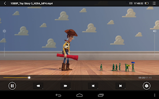 Screenshot of MoliPlayer-video&music media