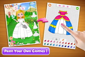 Screenshot of Coco Paint My Dress