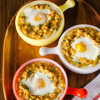 Spiced Lentils With Egg