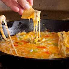 Breakfast Queso Fundido Recipe