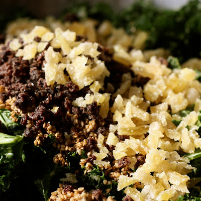 Rubbed Kale Salad