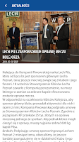 Screenshot of Lech Poznań Mobile