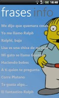 Screenshot of Frases Ralph