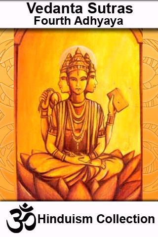 Vedanta Sutras - Fourth Adhyay
