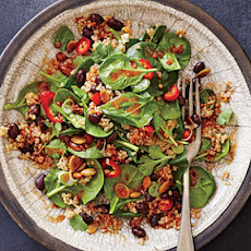 Spicy Bean and Quinoa Salad with