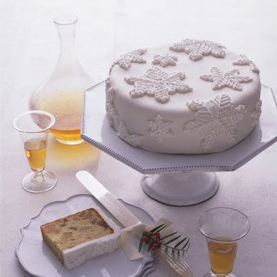 Snow-Capped Fruitcake