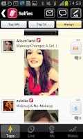 Screenshot of Selfies: DailyMee