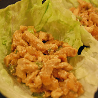 Chicken Lettuce Wraps – Freezer Cooking