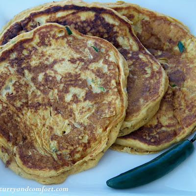 Savory Sweet Potato Pancakes
