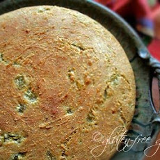 Gluten-Free Pueblo Bread Recipe with Green Chiles