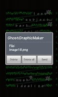 Screenshot of Ghost Graphic Maker