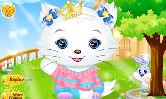 Screenshot of Princess Kitty Hair Salon
