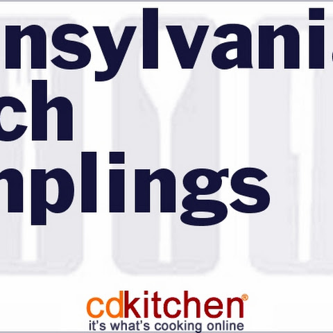 Pennsylvania Dutch Dumplings