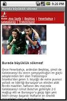 Screenshot of Andro Trabzonspor Haber