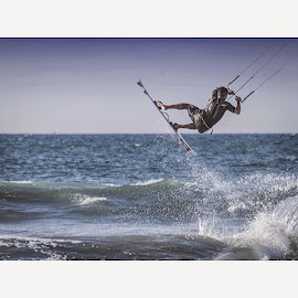 Up and away by Cian Quinlan - Sports & Fitness Surfing