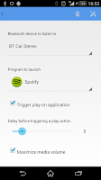 Screenshot of Bluetooth Autoplay