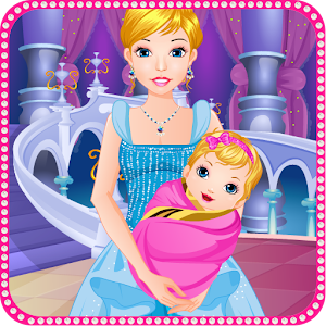 Cinderella gives birth games