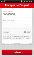 Screenshot of SFR PayCard