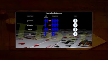 Screenshot of Card Deck Platform
