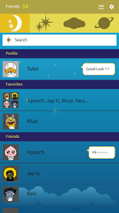 Moon Child - KakaoTalk Theme - screenshot