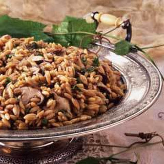 Orzo Onion Soup Mix Mushrooms Recipes