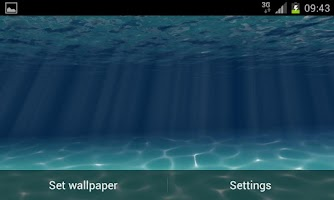 Screenshot of Under the Sea Live Wallpaper