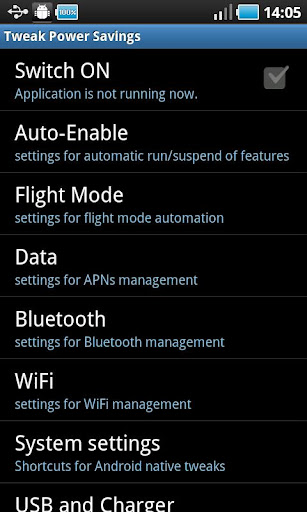 tweak-power-savings for android screenshot
