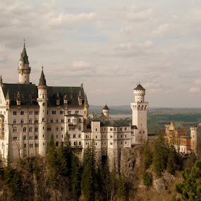 Neuschwanstein Castle by Gaurav Dhup - Buildings & Architecture Statues & Monuments ( castle, germany, disney, neuschwanstein )