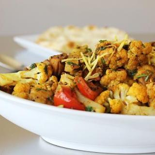 Aloo Gobi – Potatoes & Cauliflower - gluten-free, vegan