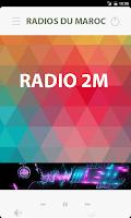 Screenshot of Moroccan Radios Maroc V7