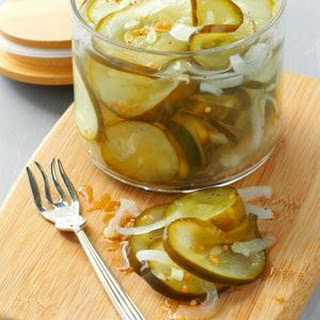 Microwave Mustard Pickles Recipes