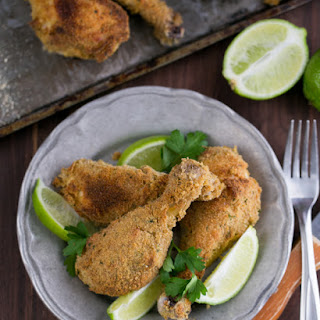 Breaded Baked Chicken Drumsticks