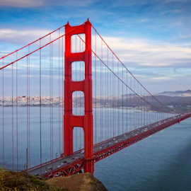 Golden Gate from Marin by Matt Reynolds - Buildings & Architecture Bridges & Suspended Structures