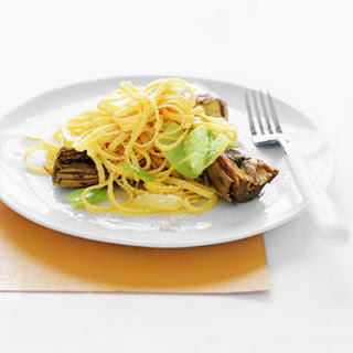 Linguine with Artichokes and Leeks