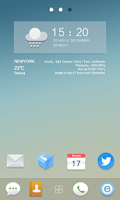 Screenshot of Fresh Life GO Launcher Theme