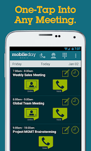 MobileDay One-Touch Dial App
