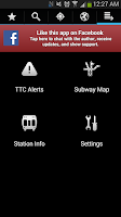 Screenshot of Transit Now Toronto for TTC +