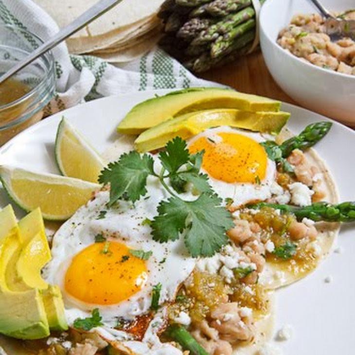 Asparagus Huevos Rancheros Recipe | Yummly