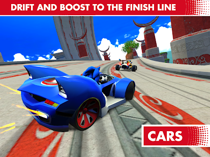 Game Sonic Racing Transformed apk for kindle fire