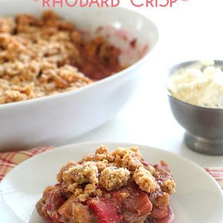 Gluten Free Sugar Free Rhubarb Crisp Recipes