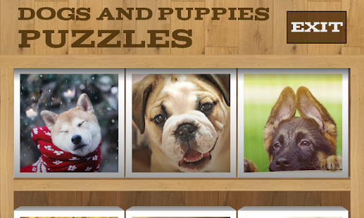 Dogs and Puppies Puzzles - screenshot