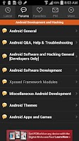 Screenshot of XDA-Developers