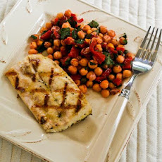Grilled Mahi Mahi Recipe with Lemon and Capers