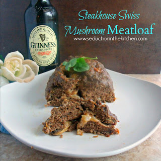 Steakhouse Swiss Mushroom Meatloaf
