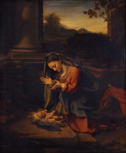 Correggio, Adorazione del bimbo