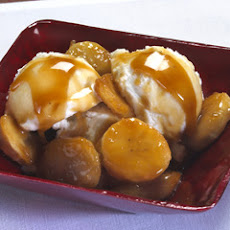 Caramelized Banana Ice Cream Topper