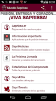 Screenshot of Mundo Saprissa