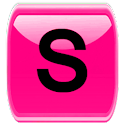 Pink Socialize for Facebook icon