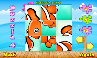 Screenshot of 123 Kids Fun PUZZLE GOLD Free