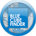 Blue Cube Locator icon